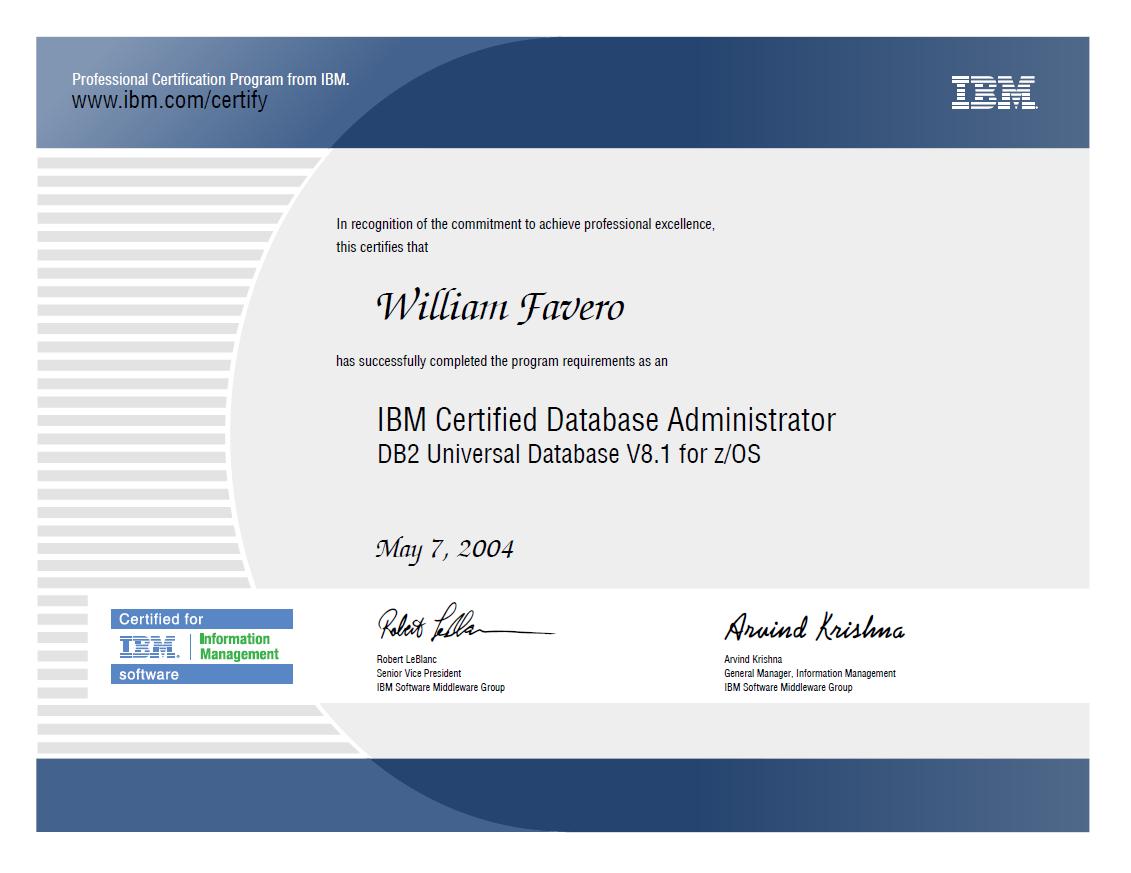 Pagew7 personal certifications certification certificate xflitez Gallery