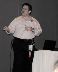 Willie Presenting at Anaheim SHARE 2005